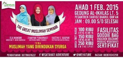 The Great Muslimah Seminar
